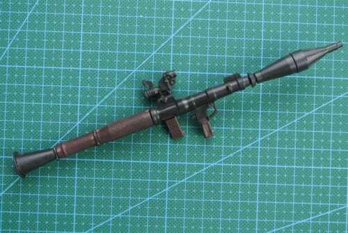 """1//6 SCALA RPG ANTI TANK Lanciarazzi per 12/"""" Action Figure Pistola modello Arma"""
