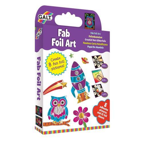 Arts and Crafts For Kids Galt Toys Fab Foil Art Children Creativity Fun Kit