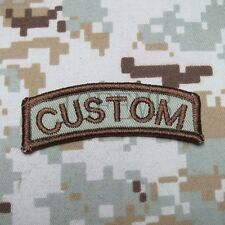 Buy Custom Name Tapes Text BRAND Morale Tactics Military