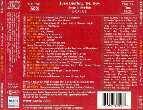 JUSSI BJÖRLING: Collection Vol. 2, opera