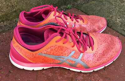 ASICS Trainers Shoes Running Training Gel Fit Size Uk 10   eBay