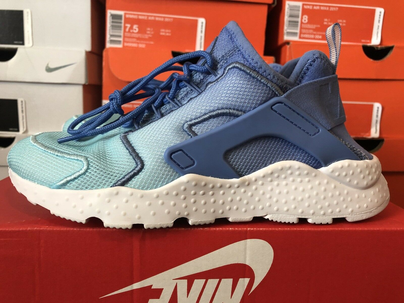 Women's Nike Air Huarache Run 5.5 Ultra BR 833292-401 Dize 5.5 Run Polar Still Blue 99deeb