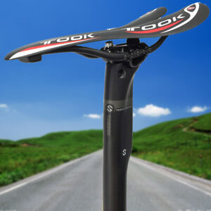 TOSEEK-Bicycle-Carbon-Seatpost-27-2-30-8-31-6mm-MTB-Road-Bike-Saddle-Seatposts