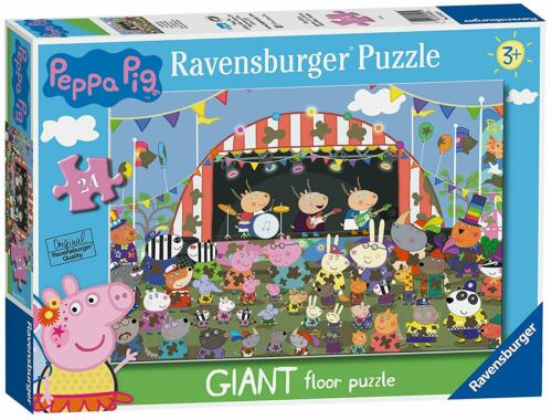 Ravensburger Peppa Pig Family Celebrations 24 piece giant floor puzzle 3+ NEW