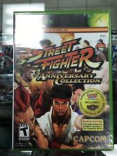 Street Fighter Anniversary Collection (Xbox) Original Factory Sealed