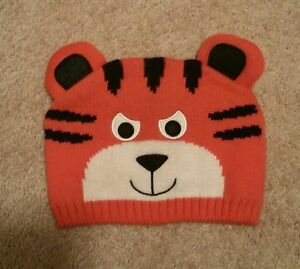 a1b616006edf66 Image is loading NEW-The-Childrens-Place-Orange-Tiger-Winter-knitted-