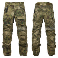 Camo Pants With Eva Pads Ripstop Assault Force Battle Knee Pad Tactical Pants