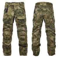 Camo Pants With Eva Pads Ripstop Assault Force Battle Knee Pad Tactical Pants