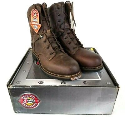 """Justin Men's 8"""" Rugged Utah Composition Toe Work Boot Wk679 Brown Us 11.5ee K150 In Many Styles Clothing, Shoes & Accessories"""