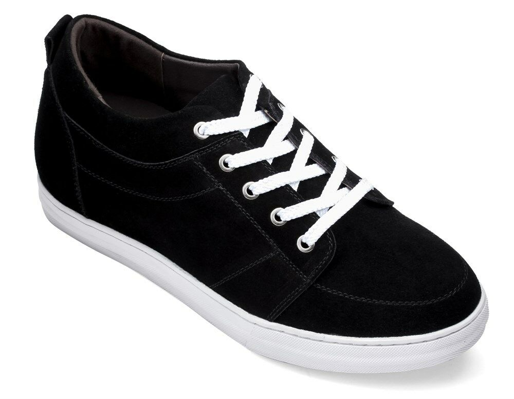 CALDEN K4125771 - 2.6 Inches Elevator Height Increase Black Classic Casual shoes