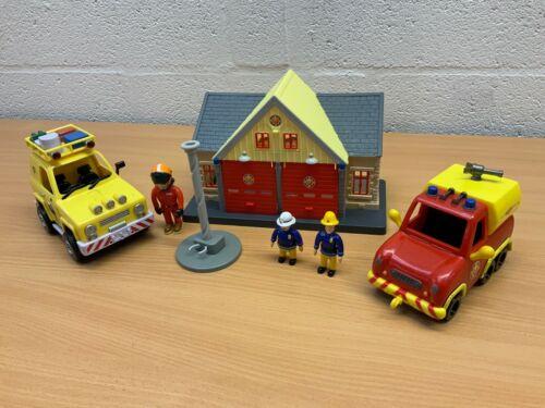 Fireman Sam Play Set Bundle Ocean Rescue Vehicles Mike/'s Workshop vous choisissez
