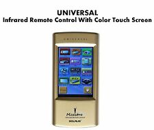 UNIVERSAL IR Remote Control With Full Color Touch Screen. Rechargeable Power.