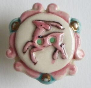 Bouton-ancien-Parurier-Cervide-Ceramique-30-mm