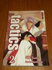 Tactics Volume 2 Sakura Kinoshita, Kazuko Higashiyama (Paperback)  9781598169614