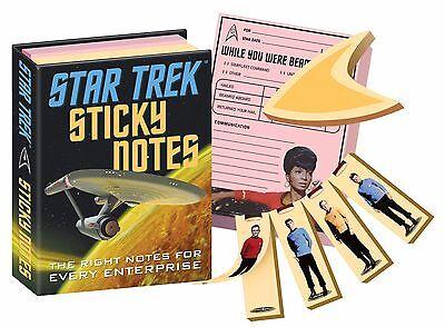 Star Trek Sticky Notes Notepads Spock Kirk