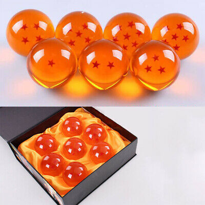 Stars Dragon Ball Z Crystal Balls Set Collection In Box Set Gifts 3.5cm 7Pcs