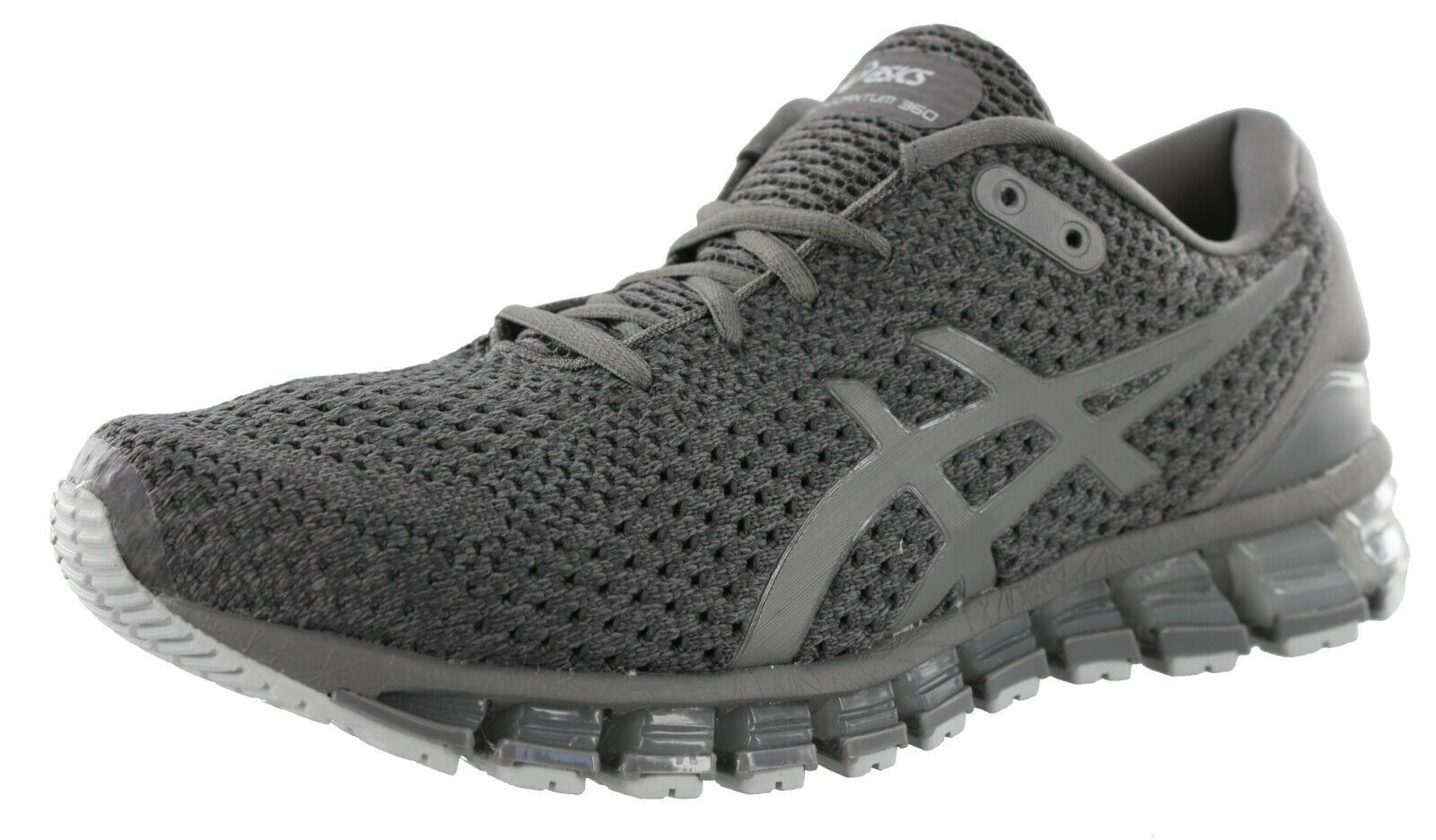 best website 84dc9 397f8 ASICS T840n 020 GEL Quantum 360 Knit 2 Carbon Men's Running Shoes Size 11.5