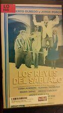LOS REYES DEL SABLAZO. LUISA ALBINONI, SUSANA TRAVERSO. RARE SPANISH VIDEO