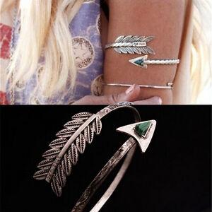 Bohemian-Ethnic-Upper-Arm-Bracelet-Vintage-Arrow-Open-Bangle-Armlet-Arm-Cuff-SP