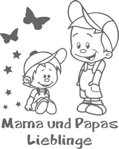 adhesivos para niños geschwisteraufkleber grh92 Baby pegatinas nombres pegatinas