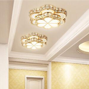 NEW-26cm-Crystal-12W-LED-Ceiling-Lights-Chandelier-Aisle-Lights-Fixtures-7637H