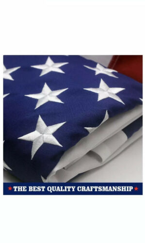 VSVO American Flag 3x5ft Embroidered Star G-14