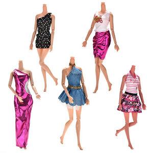 5 handgemachte hochzeit kleid party kleidung outfit f r puppe geschenkzp ebay. Black Bedroom Furniture Sets. Home Design Ideas