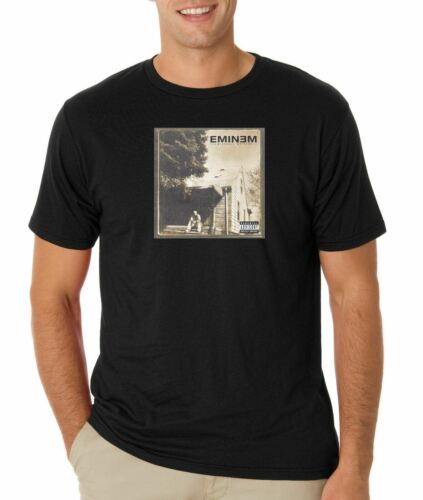 Eminem The Marshall Mathers LP T Shirt Classic Hip Hop Tee Rap Revival Shady CV1