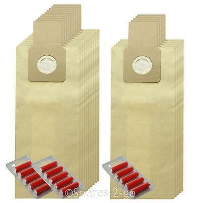 15 x U-2E U20E Type Dust Bags for PANASONIC Vacuum Cleaner Hoover Fresheners