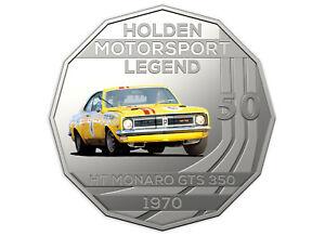 2018 Holden Motorsport Collection Ram 50c Coin 1970 Ht Monaro Gts