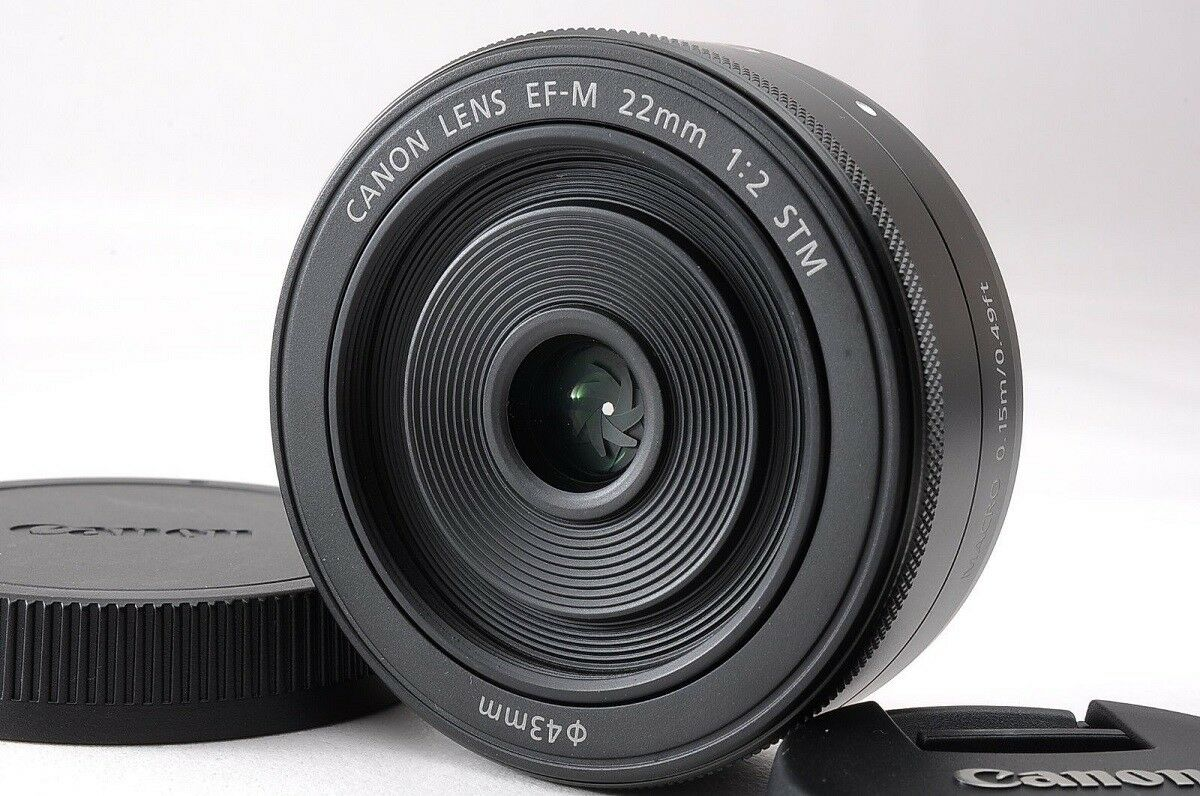 Canon Ef M 22 Mm F 20 Stm Objektiv Ebay Lensa 22mm For Eos