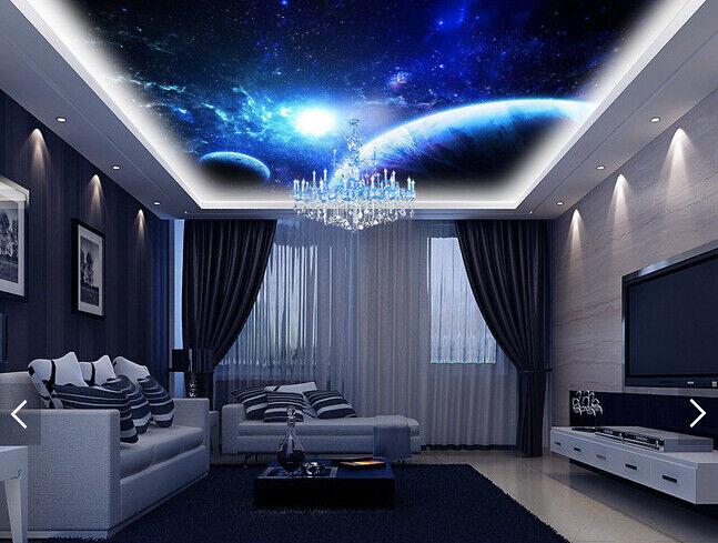 3D Das Universum Planeten 578 Fototapeten Wandbild Fototapete BildTapete DE Kyra