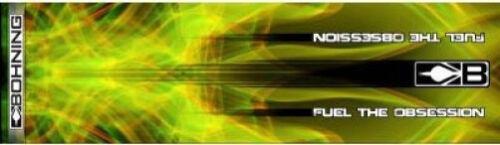 "Bohning blazerwrap petit carbone arbre 4/"" 12 Pack jaune XRAY HD"