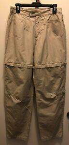 Columbia-Convertible-Pants-Shorts-Womens-Khaki-Tan-Size-14-30x29-S05-AL8238