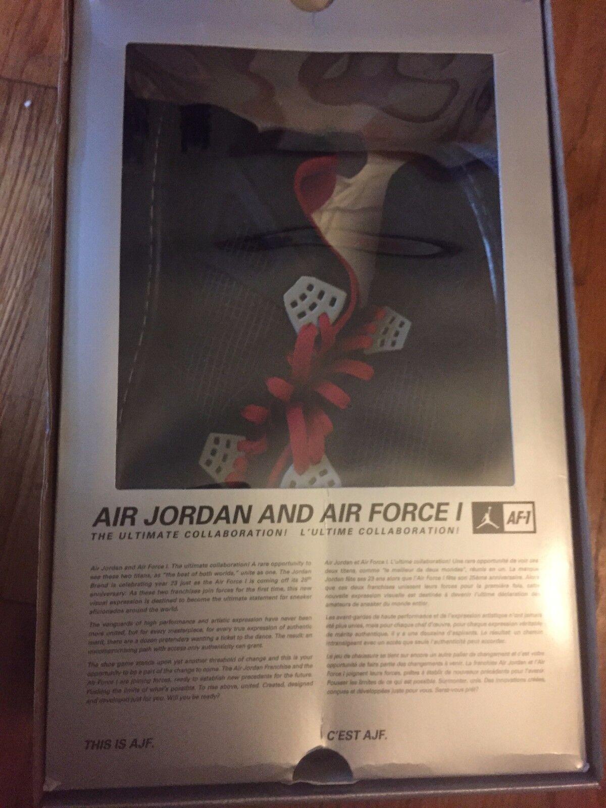 Air Jordan Force 4 Premier Collaboration Size 12