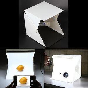Light-Room-Photo-Studio-9-034-Photography-Lighting-Tent-Kit-Backdrop-Cube-Mini-Box