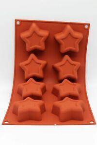 Silikonmart-SF107-Silikonform-mit-8-Sternen