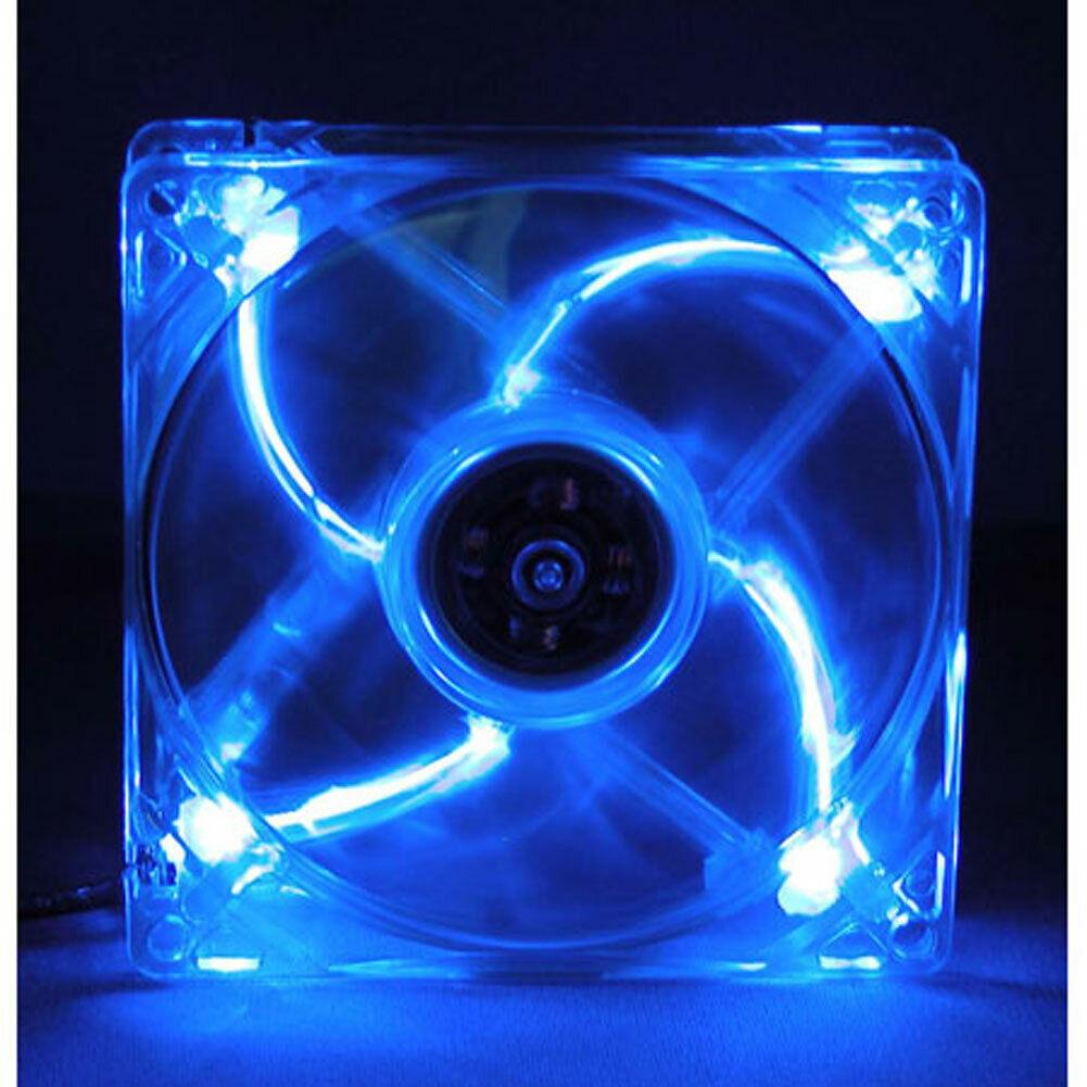 MASSCOOL 120mm Blue LED Cooling Fan BLD-12025S1M