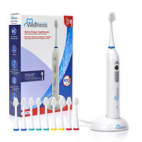 Wellness Ultra High Wireless Sonic Electric Toothbrush with 10 Heads