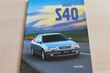 131223) Volvo S40 Prospekt 02/1998