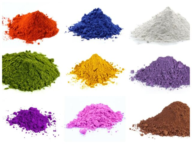 Cosmetic Natural Iron Oxide, Mineral Powder Pure Soap Bath Bomb Colour  Pigment