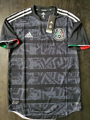 New Men's Adidas Mexico Soccer Home Authentic Jersey Style FJ4428 Size Small 192617729662 | eBay