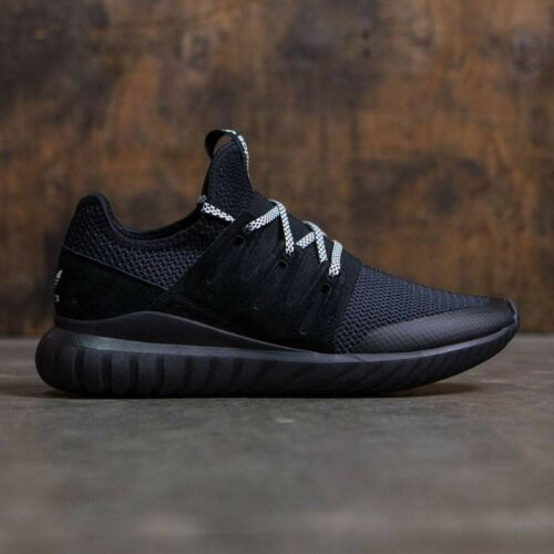 ADIDAS TUBULAR RADIAL S76719 CORE BALCK//VINTAGE WHITE  MEN/'S RUNNING SHOES