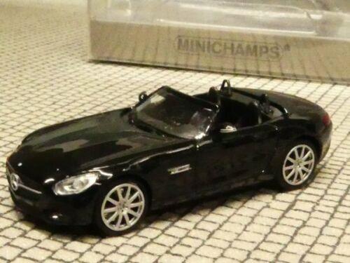 1//87 Minichamps MB AMG GT Roadster 2015 schwarz 870 037131