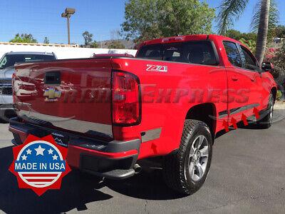 04-13 Chevy Colorado GMC Canyon Crew Cab 4-Door Steel Slip On Rocker Panels