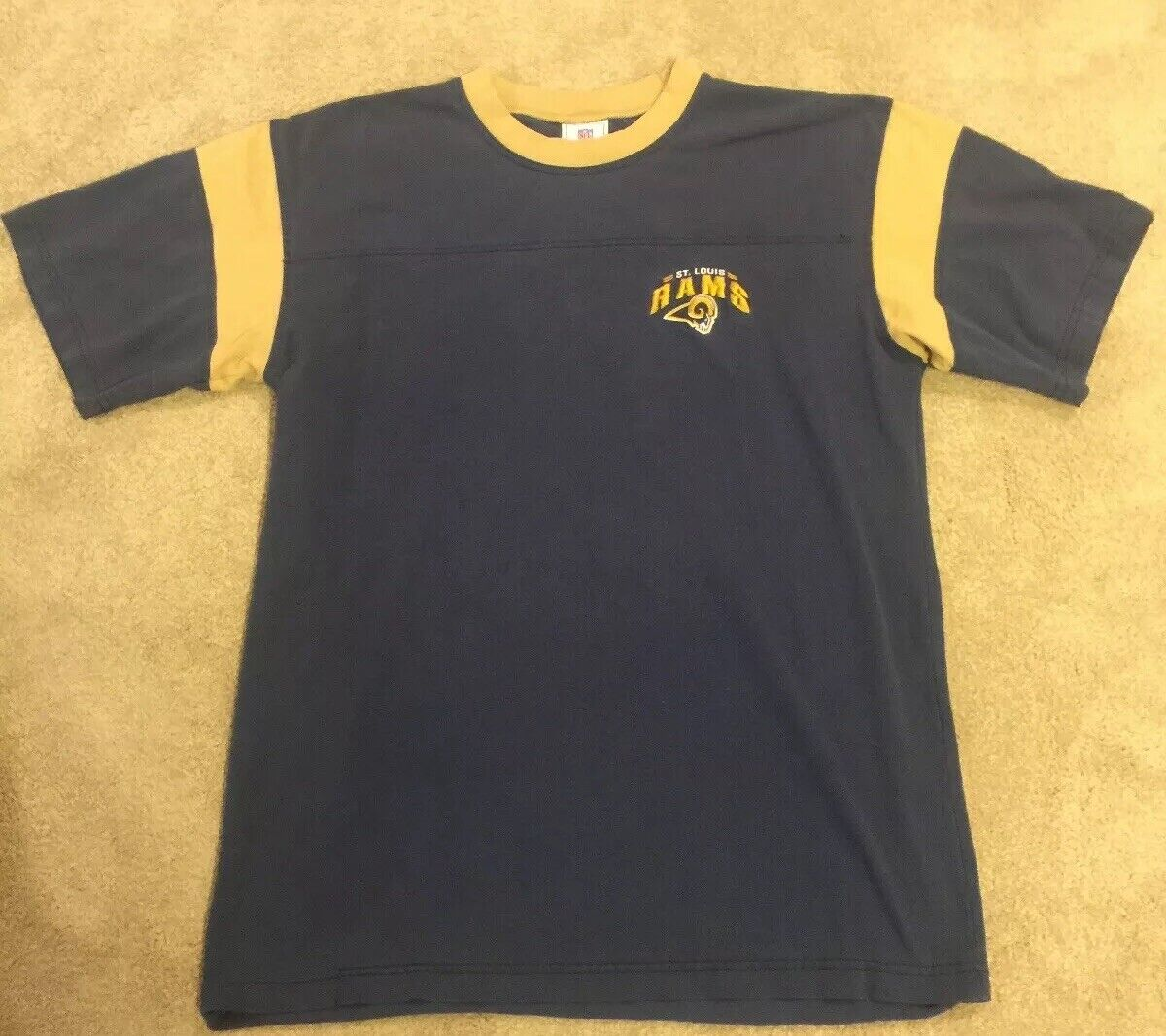 vintage rams t shirt