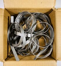 1-1//2 Diameter 100 Per Box BAND-IT JS2059 Junior 5//8 Wide x 0.030 Thick 201Stainless Steel Smooth I.D Clamp