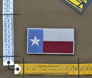 Ricamata-Embroidered-Patch-034-Texas-Flag-034-with-VELCRO-brand-hook