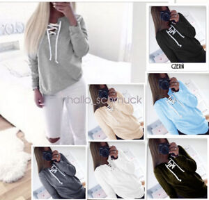 Fashion-Women-Sweatshirt-Long-Sleeve-Hoodie-Sweater-Casual-Hooded-Pullover-CD