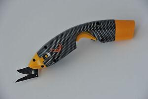 EC-Cutter Easy-Cutter  Elektrische Akkuschere / Accuschere mit Mouldet Trim Kopf